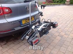 Thule 921 Euroway 2 Bike Cycle Carrier. Towbar mount. Tiltable. Lockable