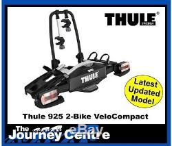 Thule 925 Velo Compact 2 Bike Cycle Carrier NEW TowBall Mount Tiltable Locking