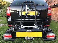 Thule 925 Velocompact Towbar Mount 2 Bike e-Bike Cycle Carrier Rack Immaculate