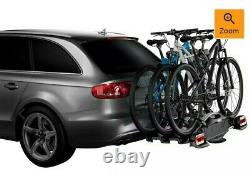 Thule 927002 VeloCompact Towbar Mounted Bike Carriers for 3 Bikes