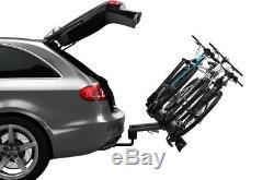 Thule 927 VeloCompact Towbar Mounted 3 Three Bike Cycle Carrier