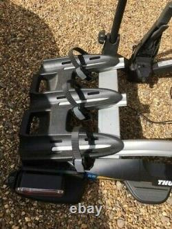 Thule 927 VeloCompact Towbar Mounted Bike Carrier for 3 Bikes
