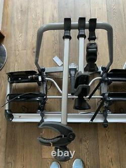 Thule 928002 VeloCompact Towbar Mounted Bike Carriers for 3 Bikes