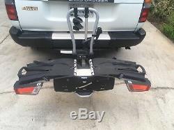 Thule 933 EasyFold XT 2 Bike Ball Mount Carrier Rack Platform Holds Two Bikes