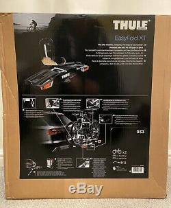 Thule 933 EasyFold XT 2-Bike Cycle Carrier Tow Bar Mounted