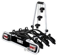 Thule 943 EuroRide 3 Bike Cycle Carrier Rack Tow Bar Mounted INC Reg Plate
