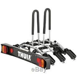 Thule 9503 RideOn Ride On Tow Bar mounted 3 Bike Cycle Carrier + FREE BIKE LOCK