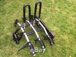 Thule 9503 Tilting 3 Bike Rack Cycle Carrier Tow Bar Mounted Used