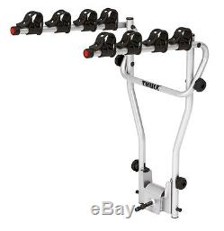 Thule 9708 Cycle Carrier Towbar Mounted Tilts Holds 4 Bikes PACKAGE DEAL