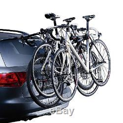 Thule ClipOn 9104 Rear Mount 3 Bike Cycle Carrier for Estate and Hatchback Cars