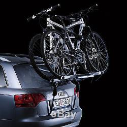 Thule ClipOn High 9105 Rear Mount 2 Bike Cycle Carrier for Estate Hatchback Cars