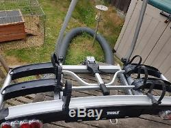 Thule EuroClassic G5 909 3 Bike Cycle Carrier- Attaches to Vehicles TowBall