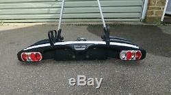 Thule EuroClassic G5 909 + adaptor 9081 4 bike tilting towbar carrier
