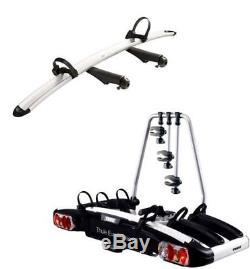 Thule EuroClassic G6 929 4 Four Bike Cycle Carrier + 9281 Extra Bike Adapter