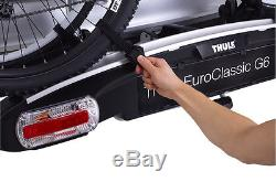Thule EuroClassic G6 LED 928 2 Bike Cycle Carrier