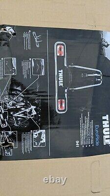 Thule EuroRide 941 Towbar Mount 2 Cycle Carrier Tow Ball Tilting Bike Rack