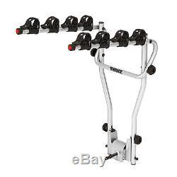 Thule HangOn 4 Bike Towbar Mount Cycle Carrier with Tilt, Tow Ball Bike Rack