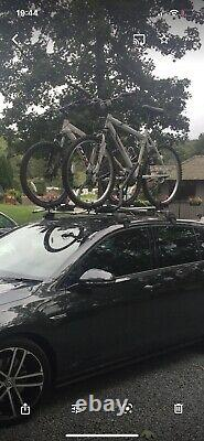Thule ProRide 591 Roof Mounted Bike Carrier Bike Rack Cycle Carrier x2