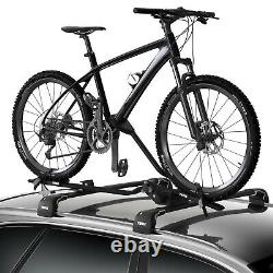 Thule ProRide 598B Twin-Pack Black Roof Mount Cycle Carrier Bike Rack with Locks