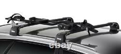 Thule ProRide 598 Black Roof Mount Cycle Carrier Bike Rack with T-Track & Locks