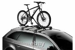 Thule ProRide 598 Cycle Carriers Black Twin Pack Key Matching Next Day