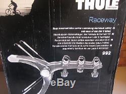 Thule Raceway 992.3 Bike Rear Mounted Car Cycle Carrier
