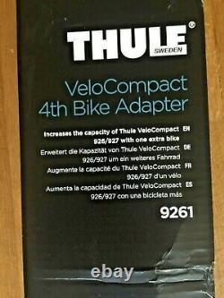 Thule VeloCompact 9261 4th Bike Adaptor for 927 Towbar Mount Cycle Carrier