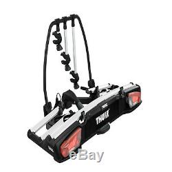 Thule VeloSpace XT 3 Towbar Mounted 3/4 Bike Cycle Carrier + Extra Bike Adpater