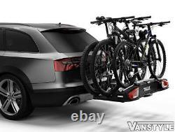 Thule Velospace Xt 3 Bike Bicycle Cycle Holder Rack Towbar Ball Carrier 13-pin