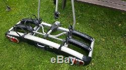 Thule euroclassic 909 Tow bar mounted 3 bike rack cycle carrier 60kg capacity