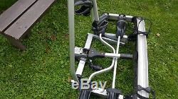 Thule euroclassic 909 Tow bar mounted 3 bike rack cycle carrier 60kg capacity