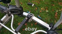 Thule euroclassic 929 g6 led 3 cycle carrier bike rack with 4th bike adapter kit