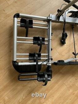 Thule euroclassic pro 903 3 cycle carrier bike rack with 4th bike adapter