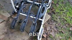 Thule euroride 943 Tow bar mounted 3 bike rack cycle carrier