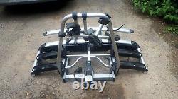 Thule tiltable 4 bike carrier, tow bar