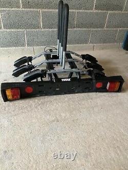 Thule tow bar bike carrier 3