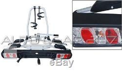 Titan 2 Cycle Bike 30kg Car 4x4 Rear Platform Towball Tow Bar Mount Rack Carrier
