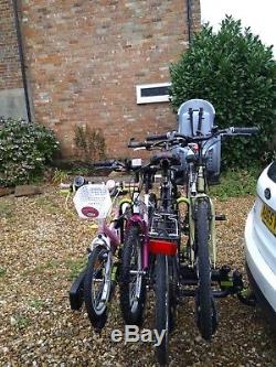 Tow Bar 4 Bike Cycle Carrier / Rack (Buzz Wing 4 tilting)
