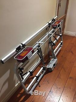 Tow Bar 4 Cycle Rack Bike Carrier Lockable With Electrics