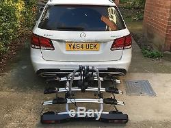 Towbar Mounted Tilting 4 Bike Rack / four Cycle Carrier