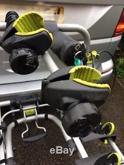 Towbar mounted cycle carrier 3 bike rack