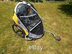 Trek GoBug Bike Bicycle Trailer Child Carrier for 2 children & luggage RRP £349