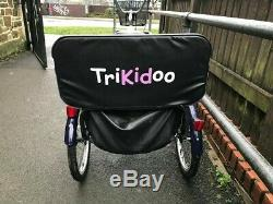 Trikidoo. Adult tricycle child carrier. Trike