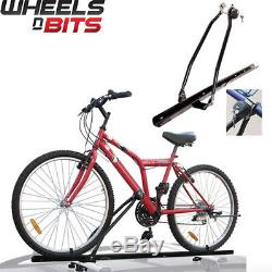 Universal Car Roof Bicycle Bike Carrier Upright Mounted Locking Cycle Rack Store