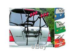 Universal Car Rear Mounted 3 Cycle Carrier Adjustable Three Bike Bicycle Rack