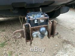 Used 4-bike tilting cycle carrier tow bar mounted Witter ZX404