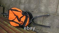 VECTOR Single wheel Bike Trailer, Cargo Carrier with Bag + Mudguard Little Used