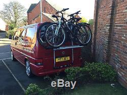 VW T4 T5 Thule 973 + 973-18 BackPac Rear Mount Cycle Carrier (2 Bike)