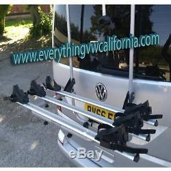 VW T6 Transporter Caravelle Rear Mounted Menabo Shadow Bike Carrier / Rack