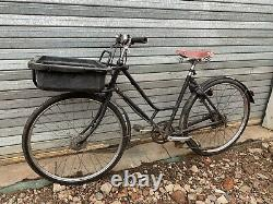 Vintage Pashley Post Office Bicycle Town Bike Cargo Carrier Bike